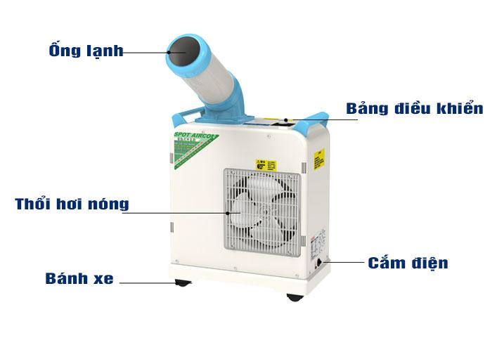 máy lạnh di động sac-1800 nakatomi