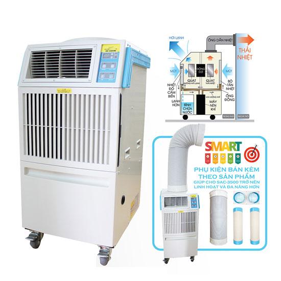 máy lạnh di động sac-3500