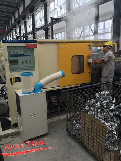 ứng dụng máy lạnh di động sac-407nd