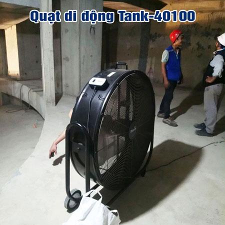 quạt di động công nghiệp tank