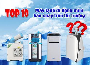 Top 10 máy lạnh di động mini bán chạy nhất hiện nay