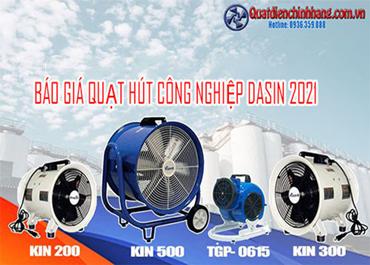 Bảng báo giá quạt hút công nghiệp Dasin năm 2021
