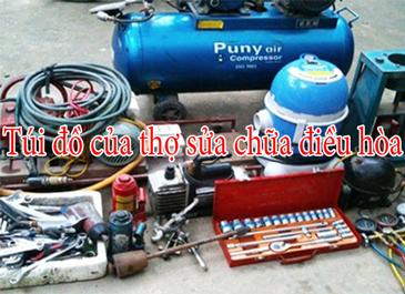 Góc tò mò: túi dụng cụ của thợ sửa điều hòa có gì ?