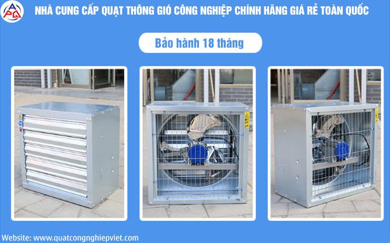 Quạt Hút Gió Vuông SHRV 500×500