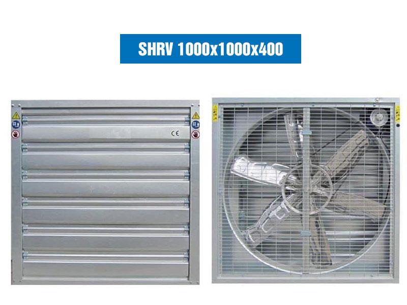Quạt Hút Gió Vuông SHRV 1000×1000